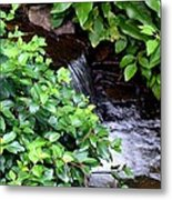 Hidden Waterfall Metal Print