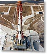 High-angle View Of The Apollo 10 Space Metal Print