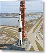 High Angle View  Of The Apollo 14 Space Metal Print