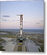 High-angle View Of The Apollo 8 Metal Print