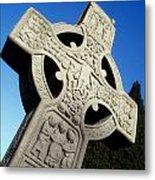 High Cross, Monasterboice, Co Louth Metal Print