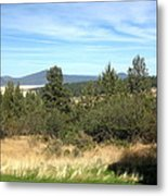 High Desert Landscape Metal Print