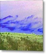 High Green Pastures  Metal Print
