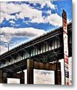 High In The Skyway Metal Print