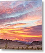 High Park Wildfire Sunset Sky Metal Print