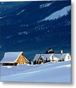 High Plains Drifters    Gunnison Metal Print by Don F  Bradford