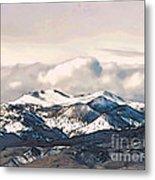 High Sierra Mountains Metal Print