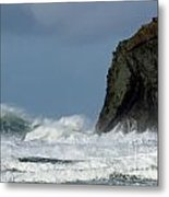 High Surf Metal Print