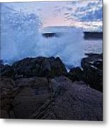 High Tide At Dusk Metal Print
