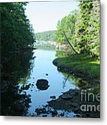 High Tide In Maine Part Of A Series Metal Print