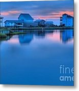 Highlights From The Sky Metal Print