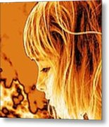Highlights Of Innocence Metal Print by Heather  Boyd