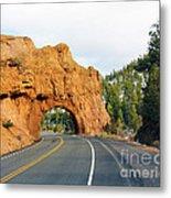 Highway 12 In Utah Metal Print