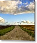 Highway D New Melle Mo 3 Metal Print by Bill Tiepelman