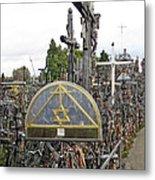 Hill Of Crosses 04. Lithuania Metal Print
