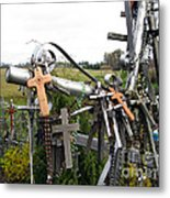 Hill Of Crosses 08. Lithuania Metal Print