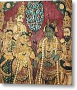 Hindu Wedding Ceremony Metal Print