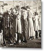 Hine: Child Labor, 1910 Metal Print