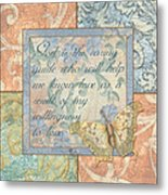 Hint Of Spring Butterfly 1 Metal Print