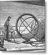 Hipparchus, Greek Astronomer Metal Print