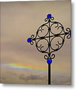 His Promises Metal Print by Cindy Wright