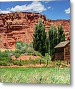 Historic Bicknell Grist Mill - Utah Metal Print