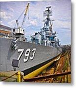 Historic Boston Ship Metal Print