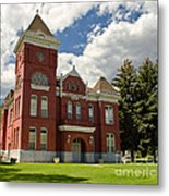 Historic Courthouse Marysvale Utah Metal Print