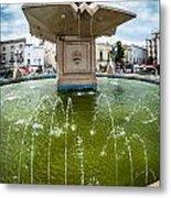 Historic Fountain Metal Print by Sabino Parente