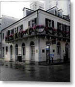 Historic French Quarter No 1 Metal Print