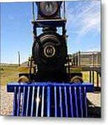 Historic Jupiter Steam Locomotive Metal Print