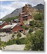 Historic Kennicott Mill Buildings Metal Print