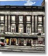 Historic Met Theater In Morgantown Wv Metal Print