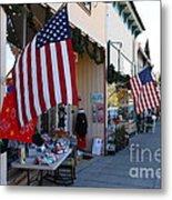 Historic Niles District In California Near Fremont . Main Street . Niles Boulevard . 7d10692 Metal Print