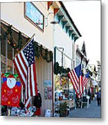 Historic Niles District In California Near Fremont . Main Street . Niles Boulevard . 7d10693 Metal Print
