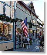 Historic Niles District In California Near Fremont . Main Street . Niles Boulevard . 7d10701 Metal Print