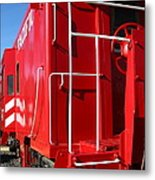 Historic Niles District In California Near Fremont . Western Pacific Caboose Train . 7d10622 Metal Print