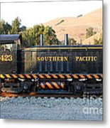 Historic Niles Trains In California . Old Southern Pacific Locomotive . 7d10867 Metal Print by Wingsdomain Art and Photography