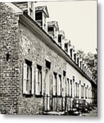 Historic Row Homes Allaire Village Metal Print