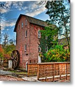 Historic Woods Grist Mill Metal Print