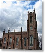 Historical 1st Presbyterian Church - Gates Avenue Se Huntsville Alabama Usa - Circa 1818 Metal Print