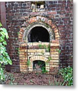 Historical Antique Brick Kiln In Morgan County Alabama Usa Metal Print