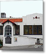 Historical Moss Beach Distillery At Half Moon Bay . 7d8172 Metal Print by Wingsdomain Art and Photography