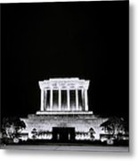 Ho Chi Minh Memorial At Night Metal Print
