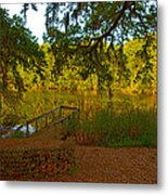 Hobcaw Barony Pond Metal Print