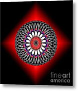 Hoberman Sphere Metal Print