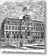 Hoboken: College, 1878 Metal Print