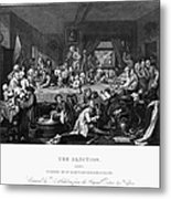 Hogarth: Election Metal Print