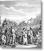 Hogarth: Industry, 1751 Metal Print
