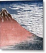 Hokusai: Fuji Metal Print